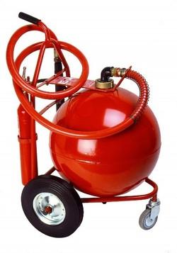 extincteur sur roues 50 kg
